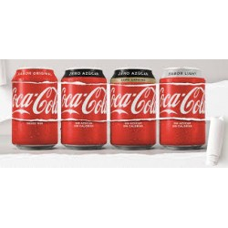 COCA COLA BOTE 0,33L (PACK 8)