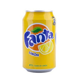 FANTA LIMON LATA 0.33CL (pack 8)