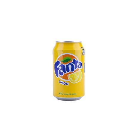 FANTA LIMON LATA 0.33CL (pack 8)