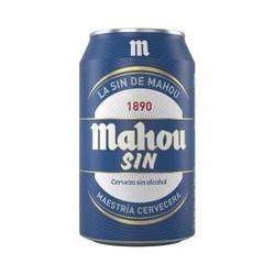 MAHOU SIN LATA 33CL (caja de 24 botes)