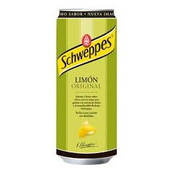SCHWEPPES Limón LATA 33 cl caja de 24