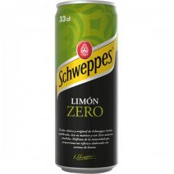 SCHWEPPES Limón Zero LATA 33 cl caja de 24