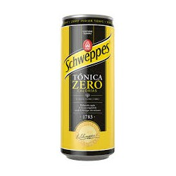 SCHWEPPES Tonica Zero LATA 33 cl caja de 24