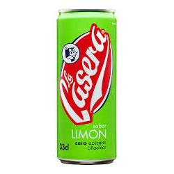 La casera Lata de 33 cl Limon 24 u