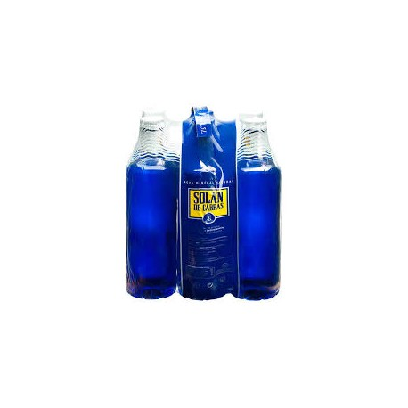 AGUA SOLAN 1.5L PACK 6 BOTELLAS