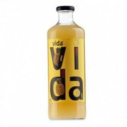 Vida Piña  bot. vidrio 1 litro 12 u
