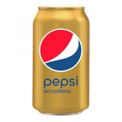 Pepsi Cola sin cafeina  Lata de 33 cl 24 u