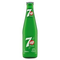Seven up Lima limon Bot. vidrio retornable 200 ml 24 u