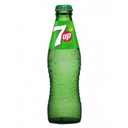 Seven up Lima limon Bot. vidrio No retornable 200 ml 24 u