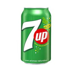 Seven up Lima limon Lata de 30 cl