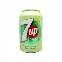 Seven up Lima limon light Lata de 30 cl