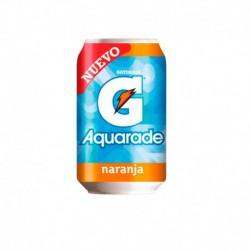 Aquarade Naranja Lata de 33 cl 24 u