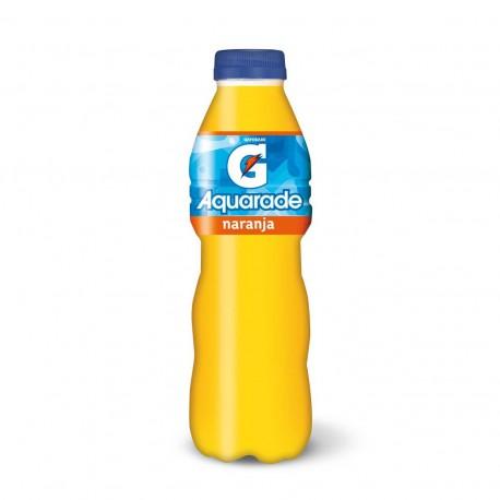 Aquarade Naranja  Botella de plastico 50 cl 12 u