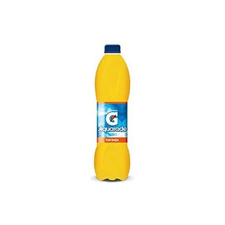 Aquarade naranja Botella de plastico 1,5 l 6u