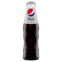 Pepsi cola light botella cristal  35 cl 24 u