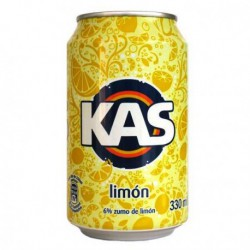 Kas limon  bote de 33 cl  24 u