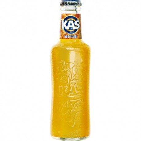 Kas naranja botella cristal  No retornable 20 cl 24 u