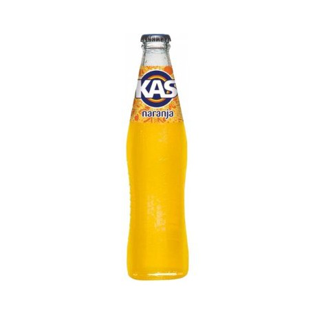 Kas naranja botella cristal No retornable 35 cl 24 u