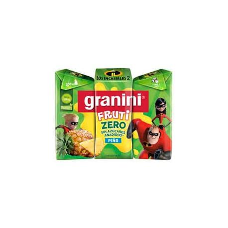 GRANINI PIÑA 200ML MINIBRIK 8 PACK DE 3 BRIK