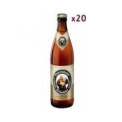 Franziskaner cerveza 50 cl caja de 20 botellas